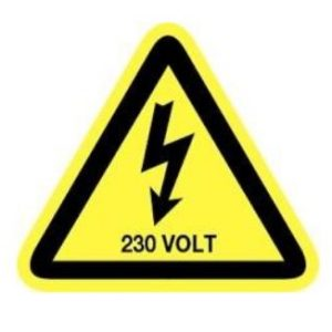 Labels verdeelbord – Set 230V